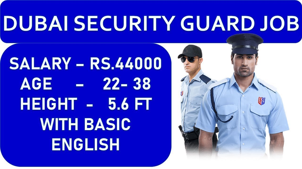 Security guard job in Qatar employment visa