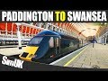 1CO1 GWR London Paddington To Swansea Class 43 HST TSW Great Western Service mp3