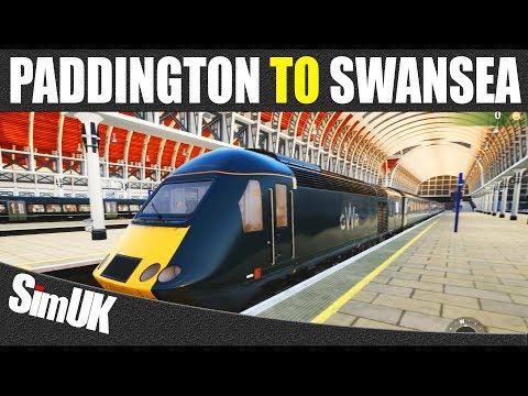 1CO1 GWR London Paddington to Swansea | Class 43 (HST) | TSW Great Western Service