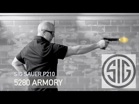 Sig Sauer P210 9mm Pistol At 5280 Armory