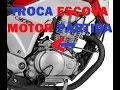 TROCA ESCOVA ARRANQUE  CG TITAN 150 / FAN / BROS 125 150 APLICAVEL A QUALQUER MOTO MOTOR PARTIDA