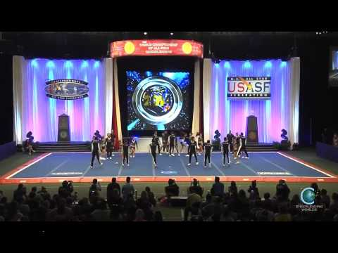 UPAC Galaxy Panthers Chile Worlds 2014 International Open Coed 5 Finals