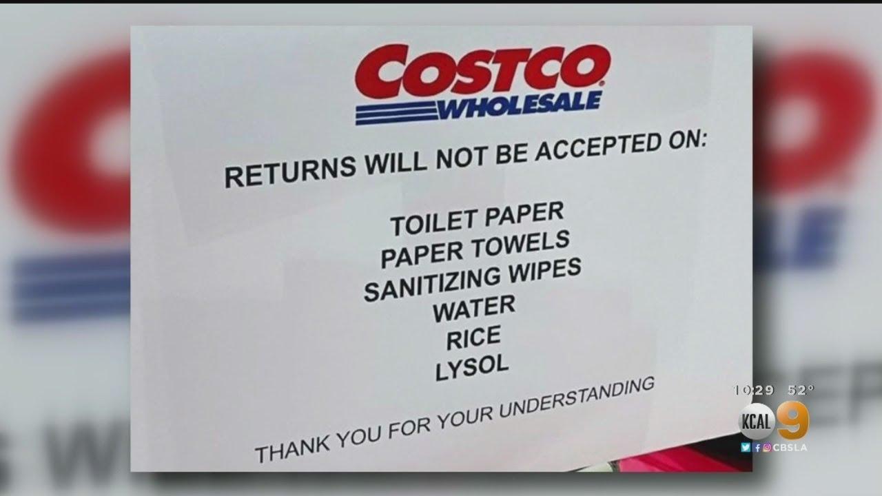 Costco Cracks Down On Panic Buying Amid Coronavirus Pandemic