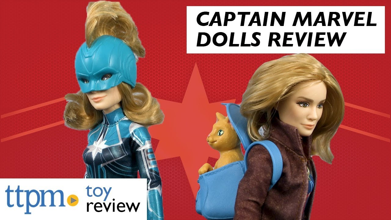 captain marvel (starforce) doll, captain marvel & marvel's goose