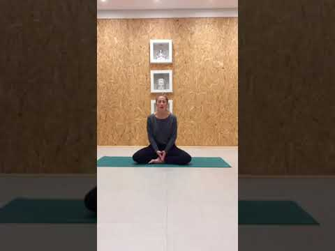 Pranayama (breath work) with Emily at Urban Zen Yoga and Movement