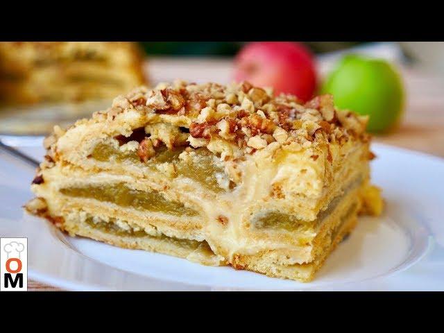Изображение Баварский Яблочный Торт Нереально Вкусный!!!