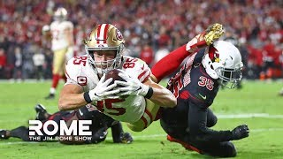 The 49ers Can't Be Stopped! | The Jim Rome Show