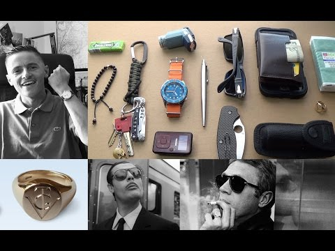 My Everyday Carry (EDC) Essentials, Designing A New Signet Ring & FREE Download Giveaway!