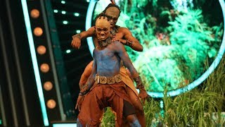 D4 Junior Vs Senior I Sajin recreated Apocalypto I Mazhavil Manorama
