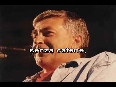Pierangelo Bertoli & Tazenda - Spunta La Luna Dal Monte (con Cori) (karaoke Fair Use)