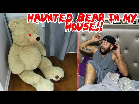 (TOM) A HAUNTED TEDDY BEAR SHOWS UP AT MY DOOR STEP & THIS  HAPPENED TO ME!