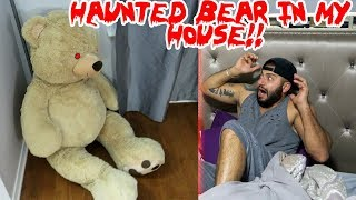(TOM) A HAUNTED TEDDY BEAR SHOWS UP AT MY DOOR STEP & THIS HAPPENED TO ME! | MOE SARGI