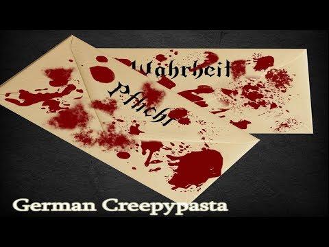 Wahrheit oder Pflicht German/ Deutsche Creepypasta
