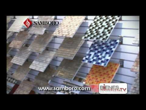 Samboro 3 youtube for Pisos de ceramica para sala