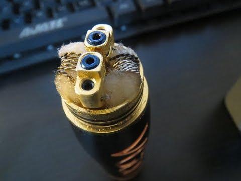 My first DIY twist coil vaping on a Peerless RDA