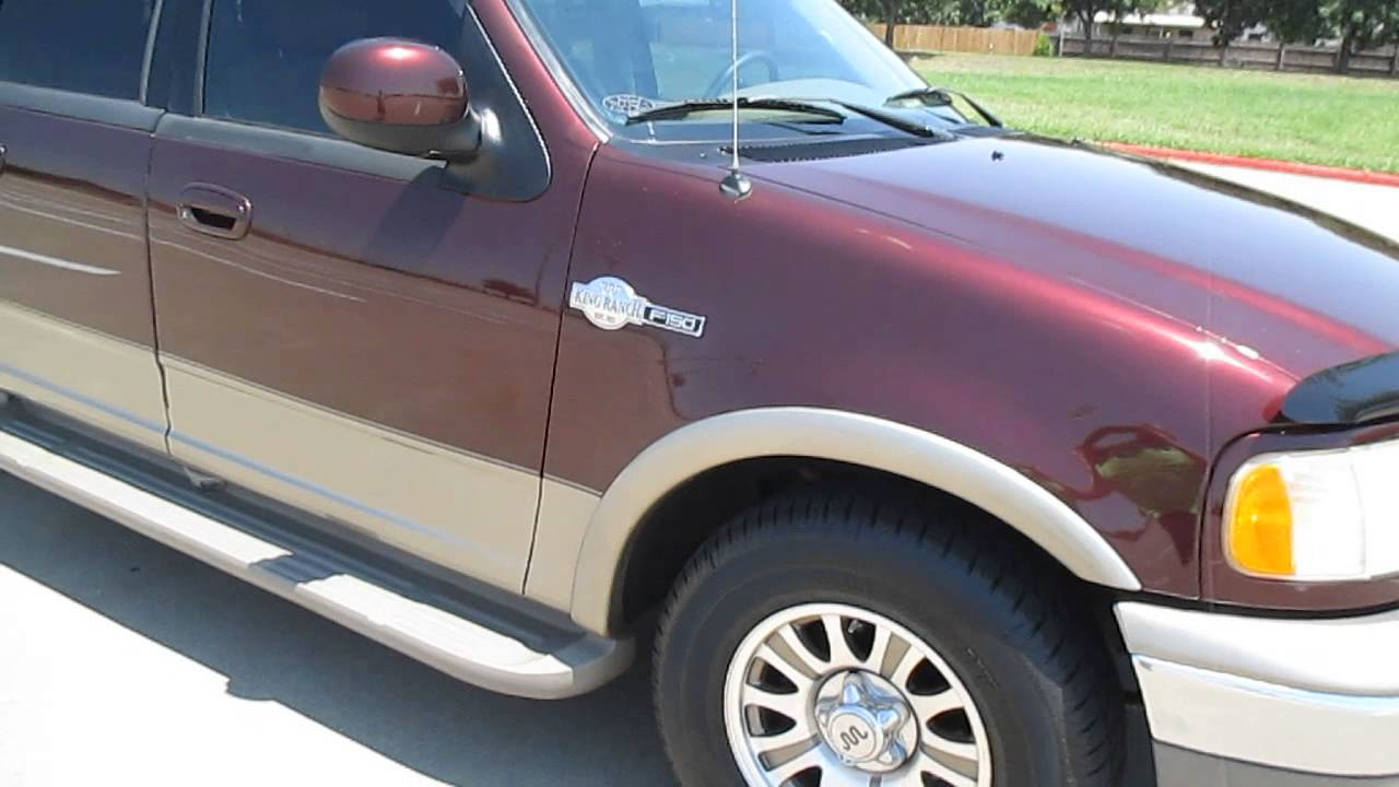 Ford F-150 King Ranch >> 2001 Ford F150. King Ranch. Super Crew. 4 Door. 82K Miles. Super Clean - YouTube