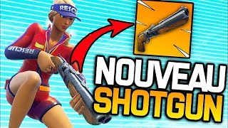 THE NEW FUSIL TO POMPE IS TROP CHEAT ON FORTNITE BATTLE ROYALE