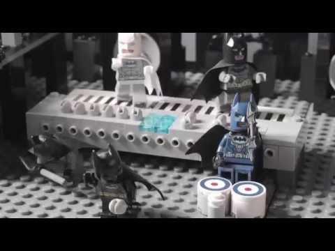 The Lego movie: Batmans a true artist legoland song