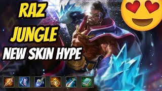 RAZ JUNGLE SECRET STRAT?? | FT. Vex190 | DARKBREAKER TOP 10 EU | Arena of Valor