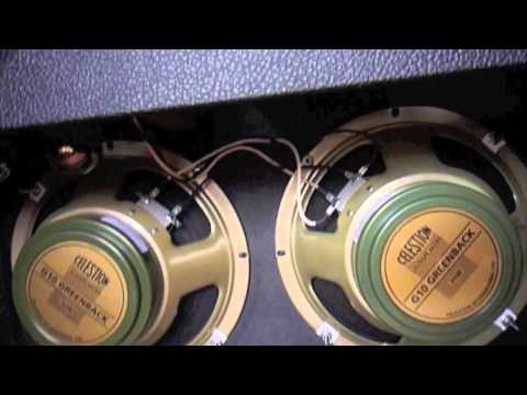Fender cts 10 inch versus celestion g10 greenback