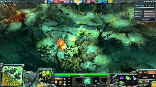 DOTA 2 Fail Clips #8 - Nature's Prophet attacks from the high ground