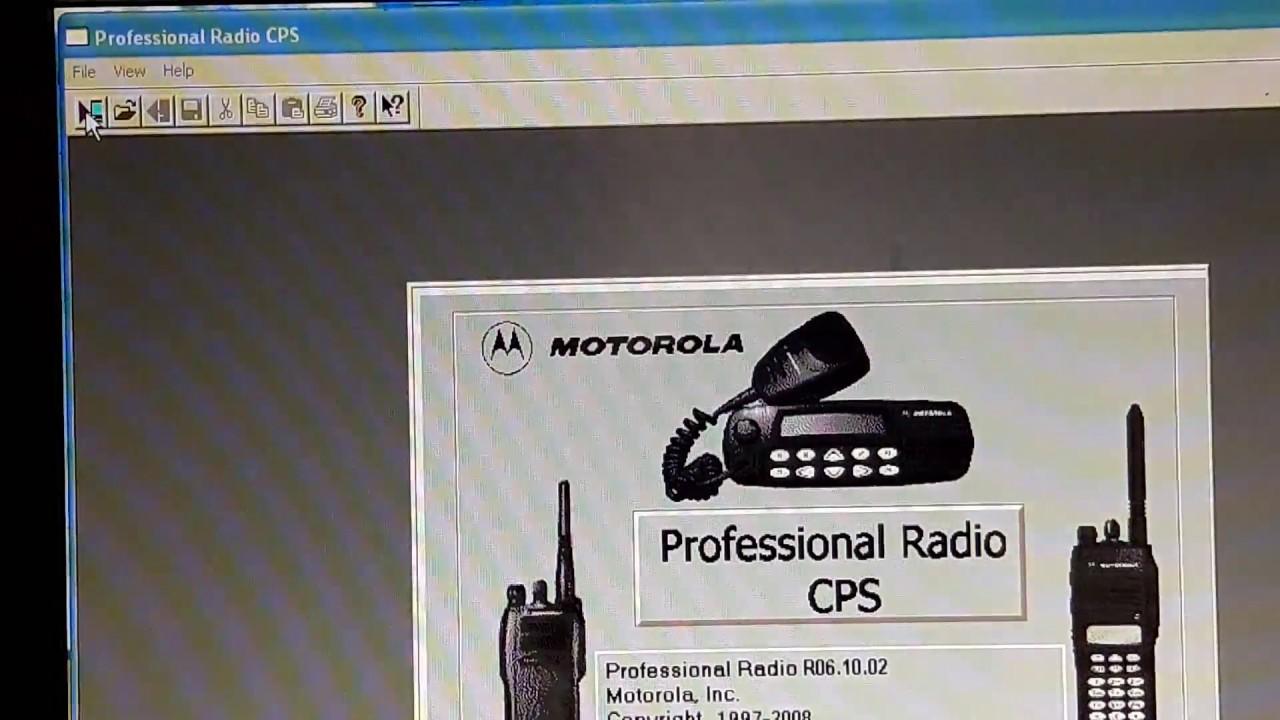 การโปรแกรมเครื่อง Motorola รุ่น Gm338