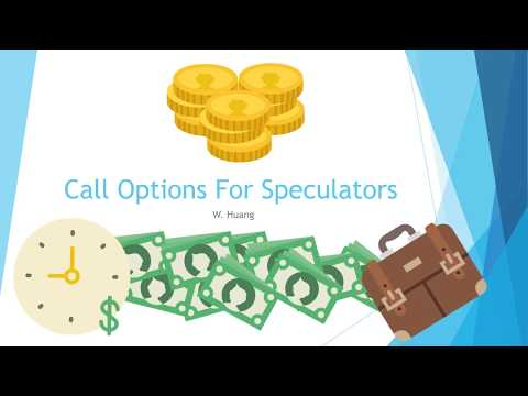 Call Options For Speculators - With Amazon Stock As Example