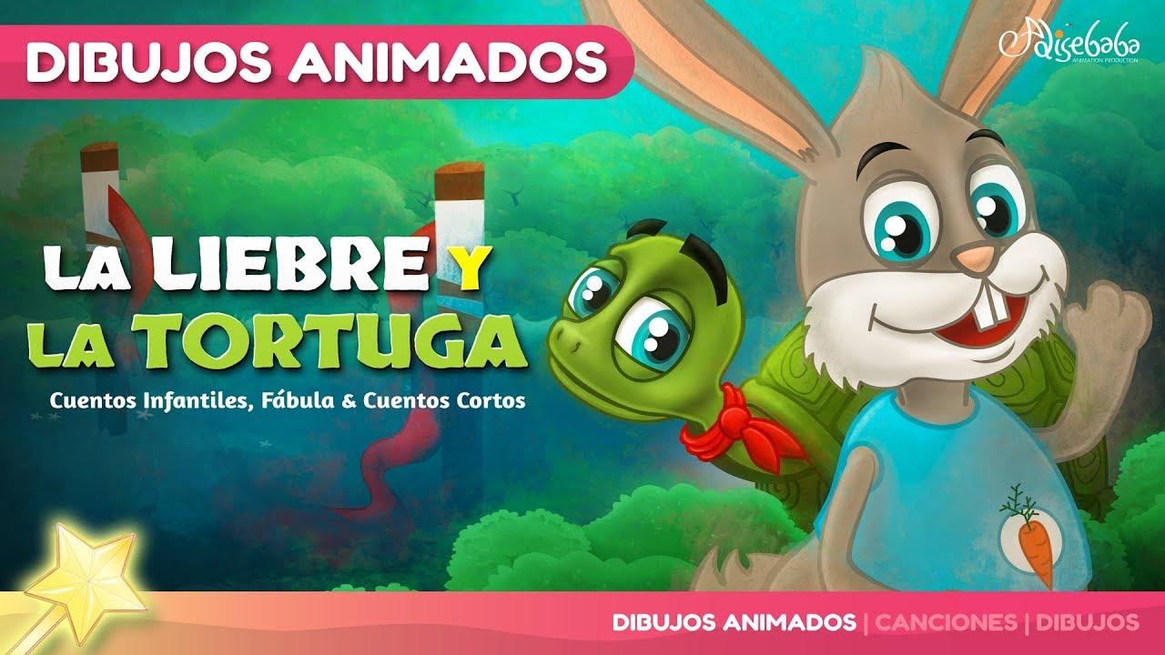 La Liebre Y La Tortuga Cuentos Infantiles Para Dormir & Animados ...
