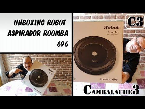 Como funciona el roomba 696