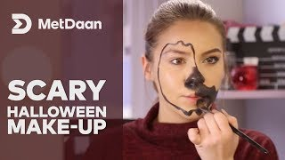 Makeup-Halloween-scary | MET DAAN