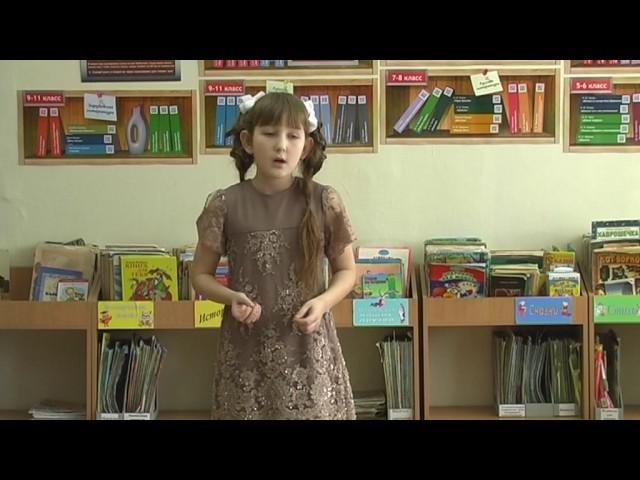 Изображение предпросмотра прочтения – ДарьяПопова читает произведение «Лисица и виноград» И.А.Крылова