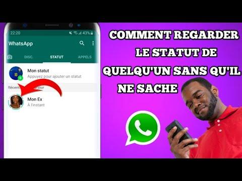 Comment regarder le statut Whatsapp de quelqu'un sans qu'il ne sache