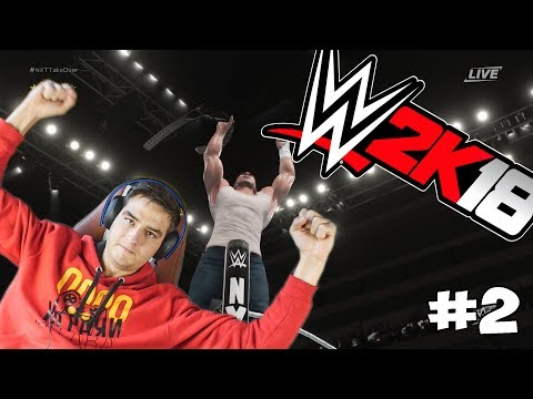 СПЕЧЕЛИХМЕ ТИТЛА! WWE 2k18 CAREER! #2