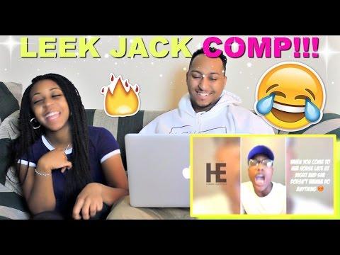 LEEK JACK - Funny Straight BARS COMP Reaction!!!