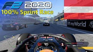 F1 2020 - Let's Make Tsunoda F2 Champion #12: 100% Sprint Race Austria