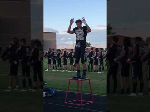 JT - Sign Language National Anthem by a High School Football Player