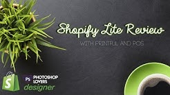 🔴 shopify Lite Review- Making Money as a Graphic Designer