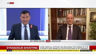 Jonathan Pacifici interview on SKY NEWS