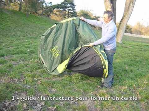 & Pliage de la tente Flash 2 et Flash 3 Outlander - YouTube