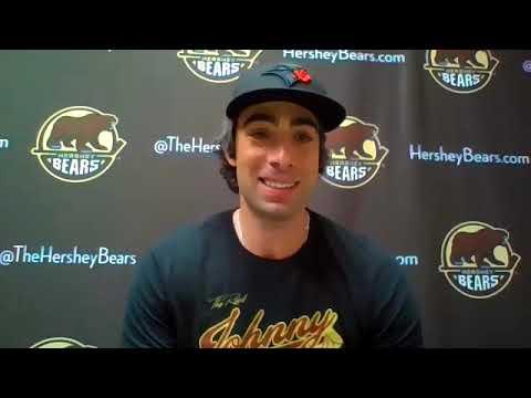 Matt Moulson 2021 Hershey Bears Final Media Availability