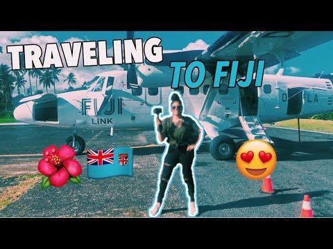 PACK & TRAVEL WITH ME TO FIJI 🌺✈️ | FIJI VLOG PART ONE