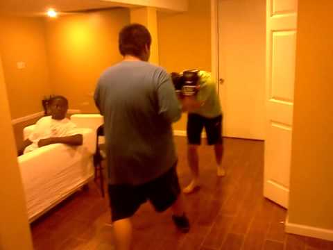 Brian Goncalves Getting Knocked Out