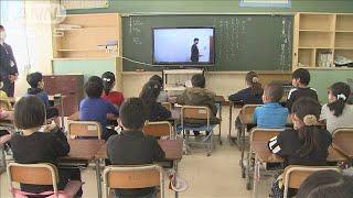 久々に学校で友達と再会 密集避けテレビ修了式(20/03/24)