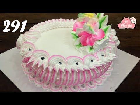 Cách Làm Bánh Kem Đơn Giản Đẹp - Nghệ Thuật ( 291 )