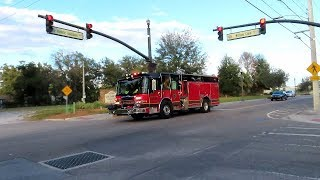 Engine & Rescue 31 Responding - Sanford Fire Department