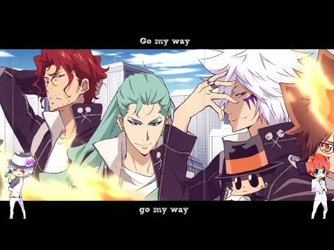 Byakuran & Shoichi Irie - Gr8 Story [English & Romaji Lyrics]