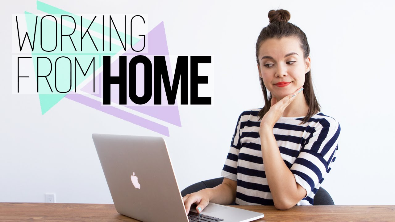 Working From Home // Tips for Staying Organized ...