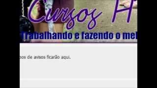 Video Aula - Colocando músicas em tópicos do Orkut.