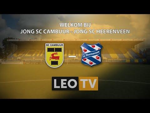LIVESTREAM | Jong SC Cambuur - Jong sc Heerenveen