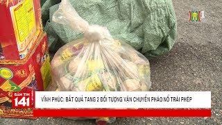 Bắt 2 thanh niên trẻ vận chuyển pháo nổ trái phép tại phường Khai Quang, Vĩnh Yên | Tin nóng 24H